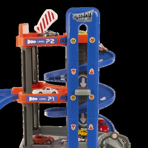 Speed City Park & Play Multi-Level Garage
