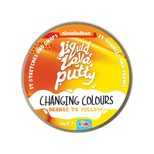 Nickelodeon Liquid Lava Putty Changing Colours - Assorted