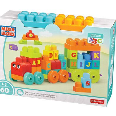 Mega Bloks Building Basics ABC Learning Train