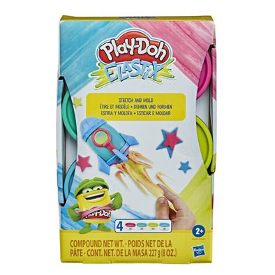 Play-Doh Elastix Compound 4 Pack - Assorted