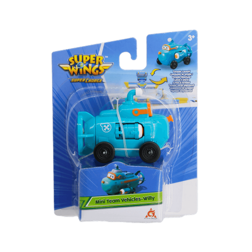 Super Wings Mission Team Willy