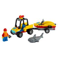Lego City Great Vehicles Beach Rescue ATV 60286