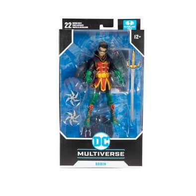 DC McFarlane Multiverse 7 Inch Damien Wayne Robin
