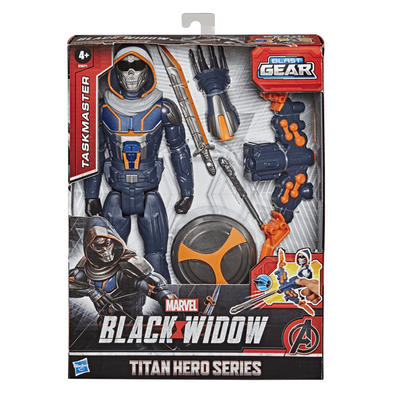 Marvel Black Widow Taskmaster Titan Hero Blast Gear