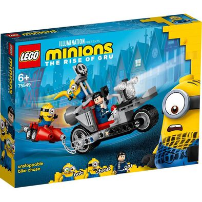 LEGO Minions Unstoppable Bike Chase 75549