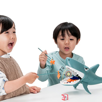 Play Pop Chomping Shark Action Game