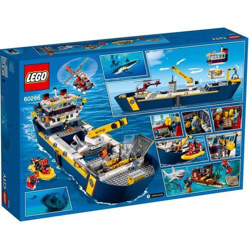 LEGO City Oceans Ocean Exploration Ship 60266