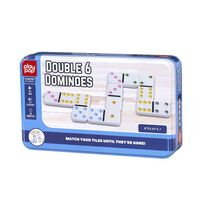 Play Pop Double 6 Dominoes Strategy Game