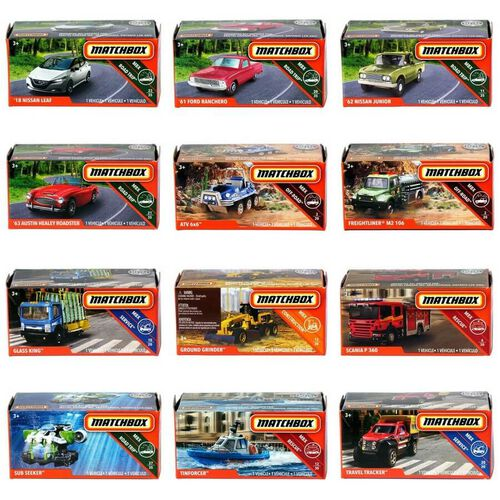 Matchbox Power Grab - Assorted