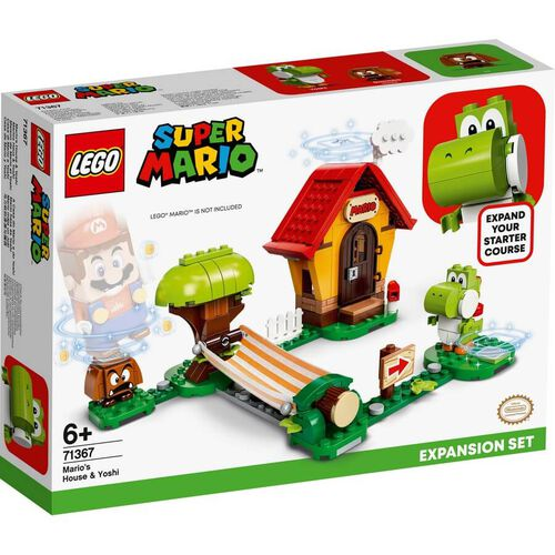 LEGO Super Mario Mario's House & Yoshi Expansion Set 71367