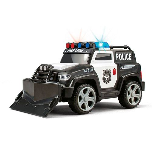 Fast Lane Lights And Sounds 6 Inch Vehicle - Assorted