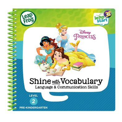 LeapFrog LeapStart Disney Princess Shine With Vocabulary Book