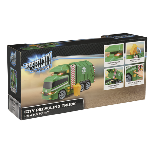Speed City City Recycling Truck