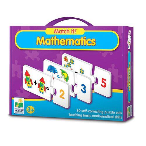 The Learning Journey Match It! Mathematics
