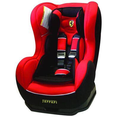 Ferrari Cosmo Red Carseat