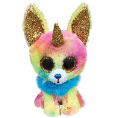 Ty Beanie Boos 6 Inch Regular Size Yips MC Chihuahua With Horn