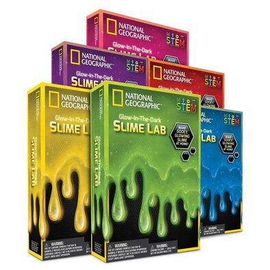 National Geographic Slime Science Kit Red