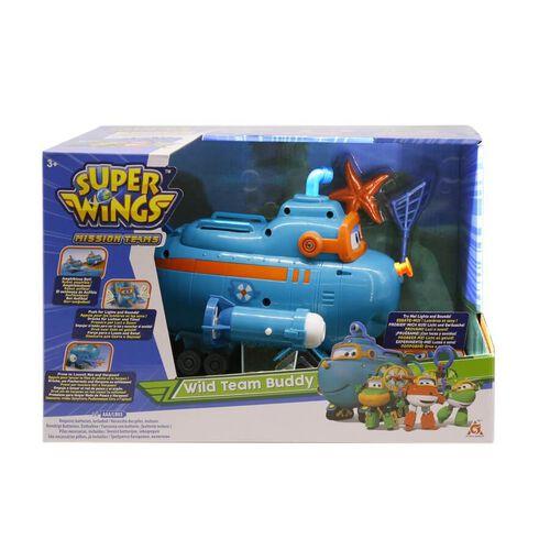Super Wings Wild Team Buddy