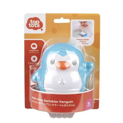 Top Tots Bath-Time Sprinkler Penguin