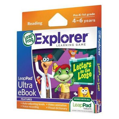 LeapFrog Ultra Ebook-Letters On The Loose