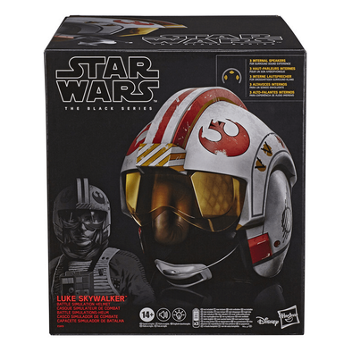 Star Wars The Black Series Luke Skywalker Battle Simulation Helmet