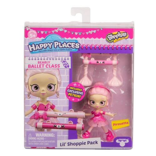 Shopkins Happy Places S4 W1 Doll Single Pack