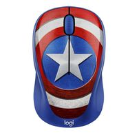 Logitech M238 Marvel Collection Captain America Wireless Mouse