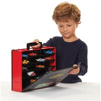 Fast Lane Storage Case With 8 Cars