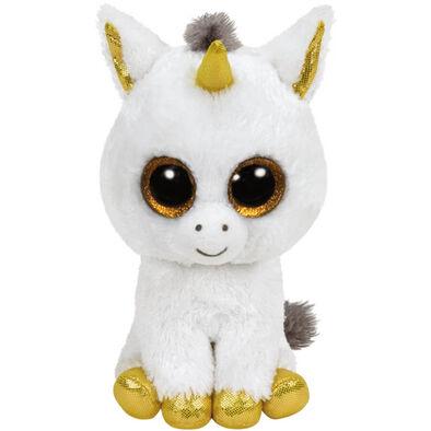 Ty Beanie Boos 16 Inch Large Size Pegasus White Unicorn