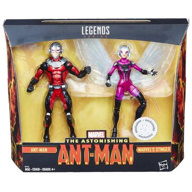 Marvel Legends Series 2 Pack Ant-Man With Marvel Stinger