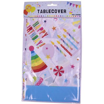Amscan Plastic Table Cover 120X180Cm