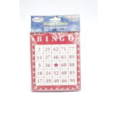 Pavilion Bingo Cards
