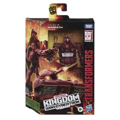 Transformers Generations War For Cybertron: Kingdom Deluxe WFC-K6 Warpath