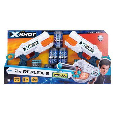 X-Shot Reflex Revolver TK-6 Double Pack