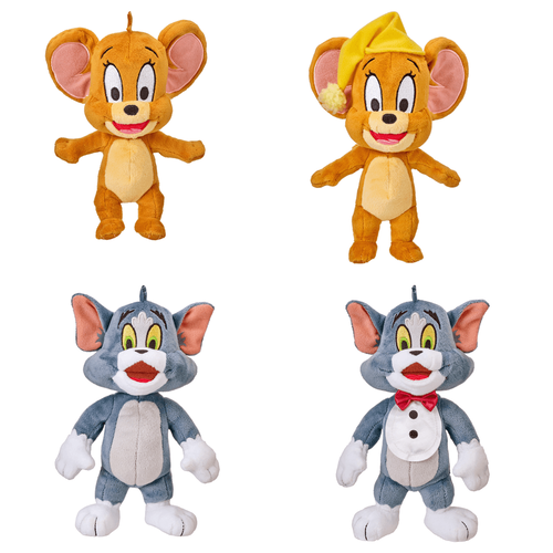 Tom & Jerry 8 Inch Basic Plush - Assorted