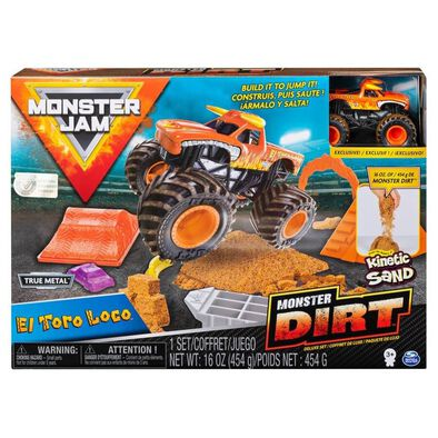 Monster Jam Kinetic Dirt Deluxe Set