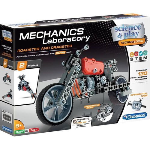 Clementoni Mech Lab Roadster and Dragster