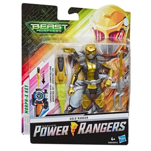 Power Rangers Beast Morphers 6-inch Ranger Figure - Assorted