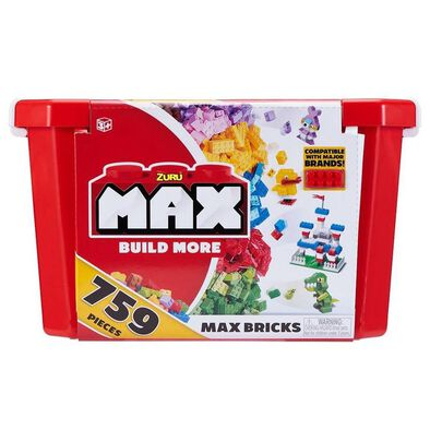 Zuru Max Build More Storage Box Set, 759 Piece