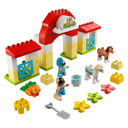 LEGO Duplo Town Horse Stable And Pony Care 10951