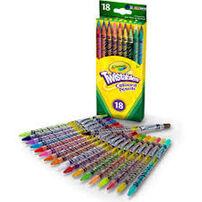 Crayola 18Ct Twistables Colored Pencils