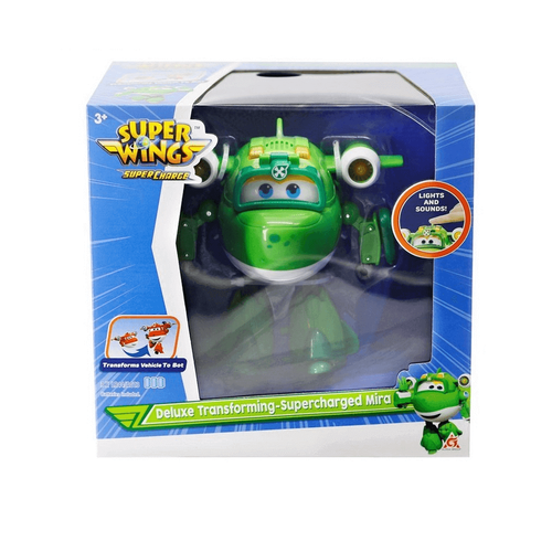 Super Wings Deluxe Transforming Supercharged Mira