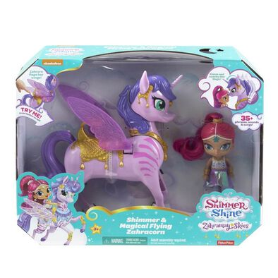Shimmer and Shine Magical Flying Zahracorn - Assorted
