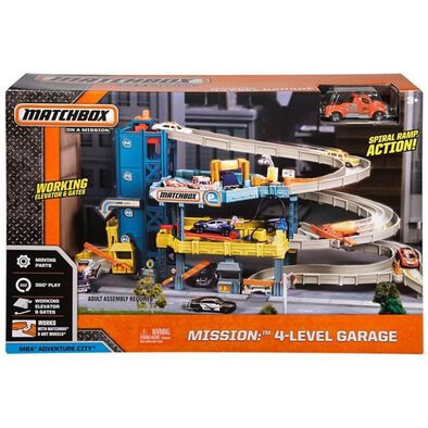 Matchbox Mission 4-Level Garage Play Set