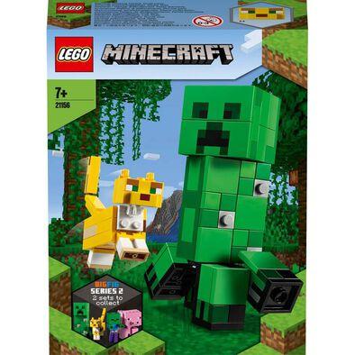 LEGO Minecraft BigFig Creeper and Ocelot 21156