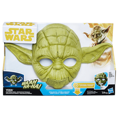 Star Wars Han Solo Yoda Electronic Mask