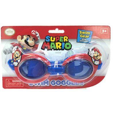 Nintendo Super Mario Swim Goggles
