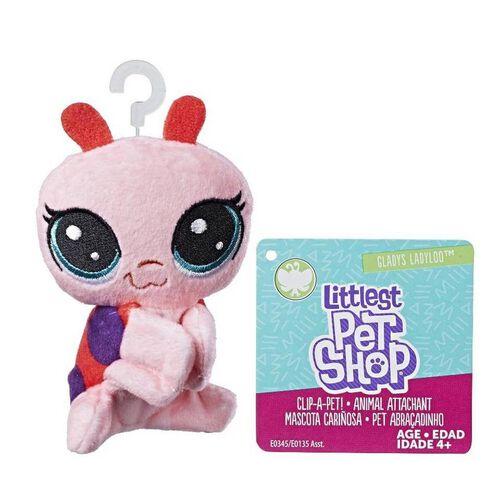 Littlest Pet Shop Soft Toy Clips - Assorted