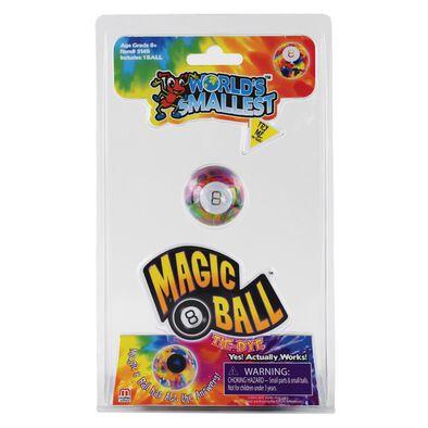 World's Smallest Magic 8 Ball-TIE DYE