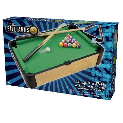 Ambassador Games 20-Inch Wooden Tabletop Billiards
